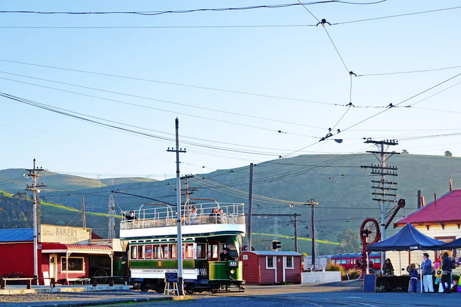 Christchurch Tramways at Ferrymead Heritage Park