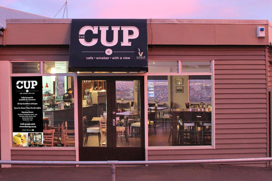 The Cup is just a few minutes walk from Dyers House - great food and views!